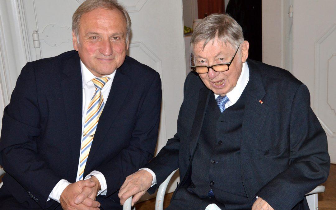 Gratulation unserem Ehrenmitglied Dr. Peter Kappen zum 85. Geburtstag!