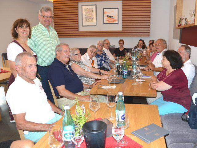 Weinwisserstammtisch im Weingut Klaus Simon